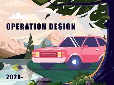 OPERATION DESIGN illustration app ux ui