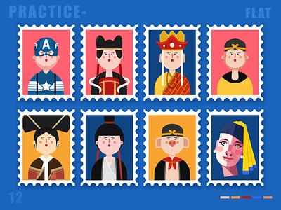 People illustration app ui ux