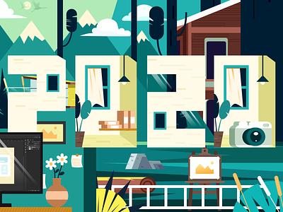 2020 illustration