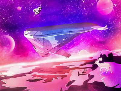 Science Fiction World illustration