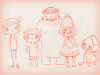 Toca House family sketch