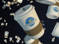Coffee Togo Cup Color