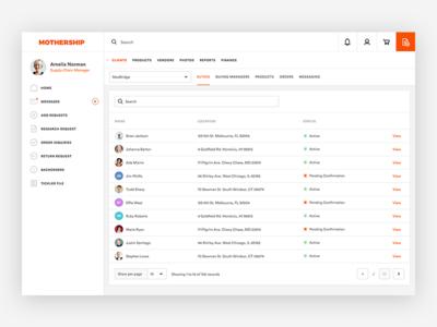 Dashboard design concept WIP orange creative design flat dashboard in progress project ui ux web design