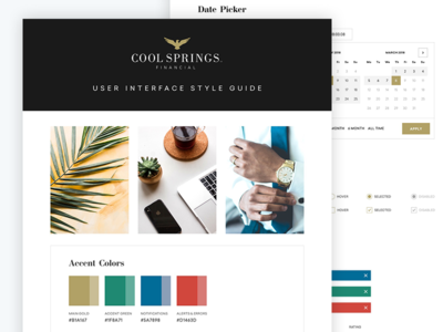 Style Guide - Financial Services