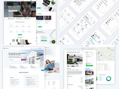 2018 top 4 2018 project creative website popular app design app green real estate top ui web design home page homepage