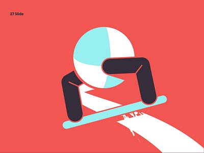 27 Slide riged rigging rig duikbassel character character animation shapes ride slide skateboard illustration duik motion animation motion graphics motion design animation after affects