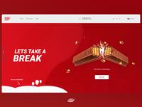 Kitkat web concept