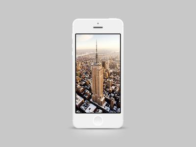White iPhone