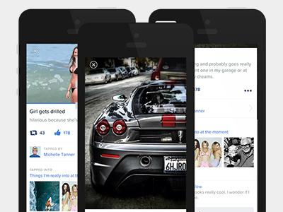 Tap Detail View white ios image