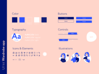 UI kit for Wardrobe app