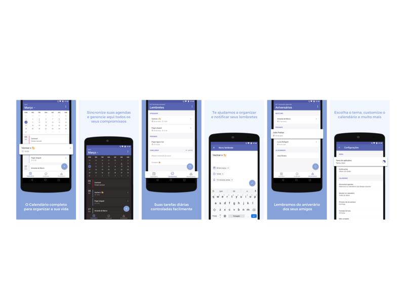 Calendario Android.Android Calendar App By Amanda De Marco On Dribbble