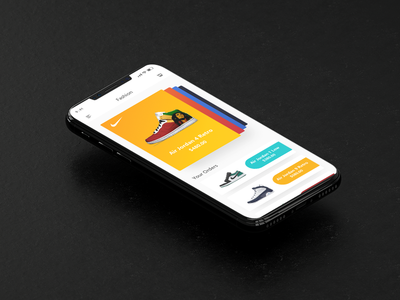 Love shoe App design