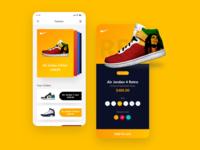 Love shoes, iOS APP creation