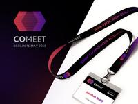 Comeet brand identity design