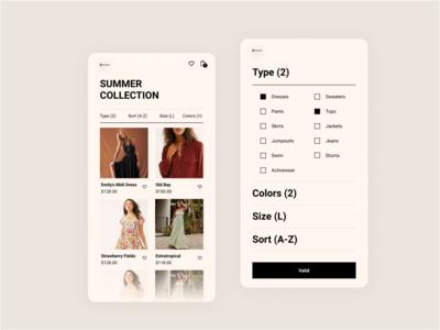 E-shop / Mobile