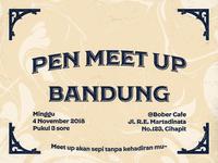 Bandung Menulis invitation