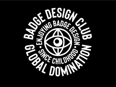 Badge Design Club Redesign vector art vector adobe illustrator club rules identity design identity badge design club graphic design badge design