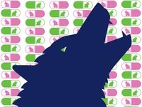 Wolf + Pill