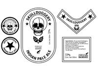 Skullduggery Beer Brand