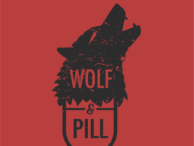 Wolf&Pill graphic design designer apparel build your brand brand message branding brand wolfpill wolf adobe illustrator vector logo design logo