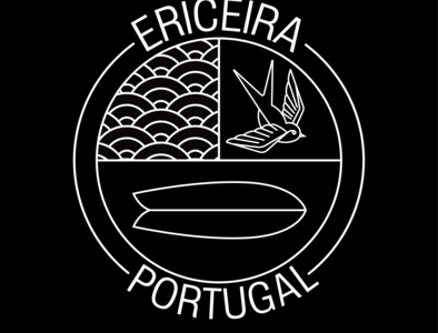 Ericeira portugal logo design sticker design badgedesign logobadge graphic designer logo graphic art adobe illustrator graphic design