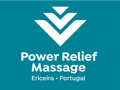 Identity Design for Power Relief Massage business owners new business profiling extreme sports startups graphic design design identity design