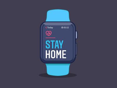 STAY HOME instagram stayhome slstudioss sahillalani grapicdesign illustration vector creative dribbble best shot