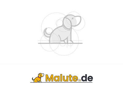 Malute.de Logo Design dribbble slstudioss vector sahillalani grapicdesign creative adobe photoshop illustration dribbble best shot