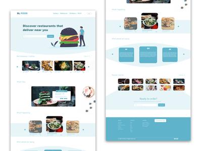 Food website - by sahil lalani