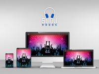 Responsive Music Landing Page