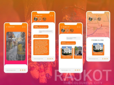Adobe XD Playoff Prototype. Influenced Rajkot City