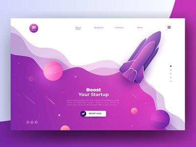 Your Startup webdesign slstudioss sahillalani ui dribbble best shot vector dribbble adobe xd illustration creative grapicdesign