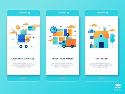 Delivered mobile app