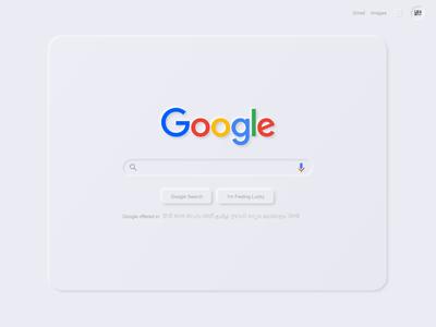 Google Soft UI Design in Adobe XD