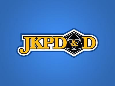 JKPD&D minimal vector typography type logo illustration icon design branding