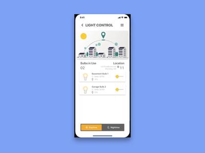 Light Control for Smart Home App