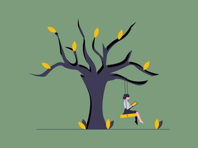 Tree Swing Animation in 5min