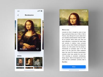 Art History App Concept