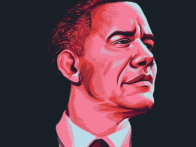 44 painting illustration portrait president barack obama obama barack