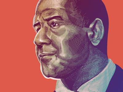 Andrew Gillum political figures political figure editorial illustration gillum andrew gillum political art politics scratchboard etching hatching crosshatching digital painting painting portrait illustration