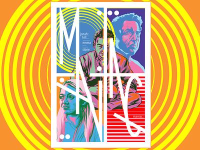 Maniac portrait art illustration fanart netflix poster art poster maniac