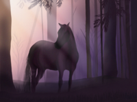 My first digital illustration 💜