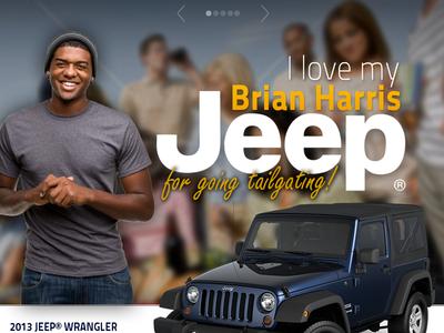 I Love my Jeep Facebook Campaign social media website automotive