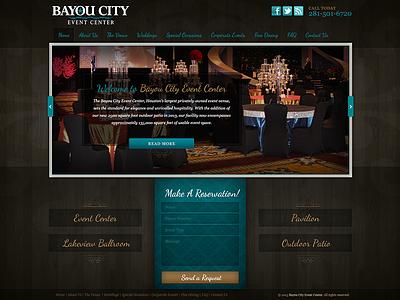 Bayou City Event Center website