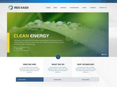 RES Kaidi website