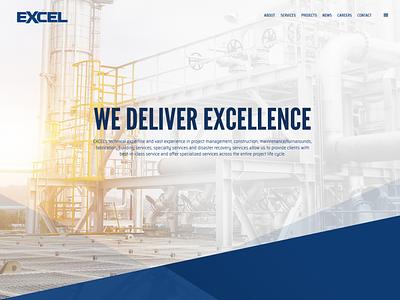 EXCEL Website Design design website