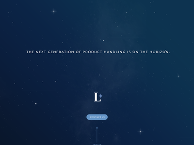 Loadstar Splash Page design website