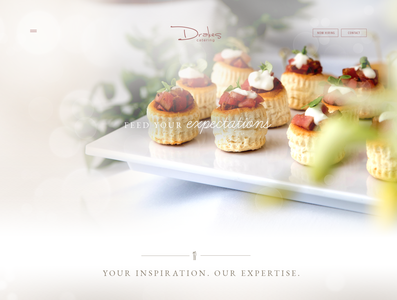 Drakes Catering Website Design
