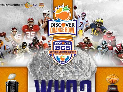 Orangebowl / BCS Championship sports social web facebook fan page