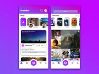 PhotoBox Social App Concept